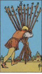 This tarot card was my first writing prompt.